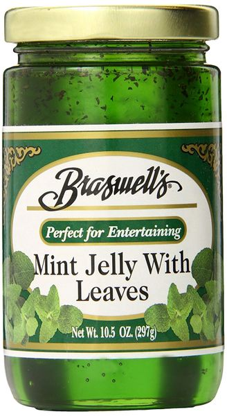 Braswell's Mint Jelly with Leaves, 10.5 Ounce (Pack of 6)