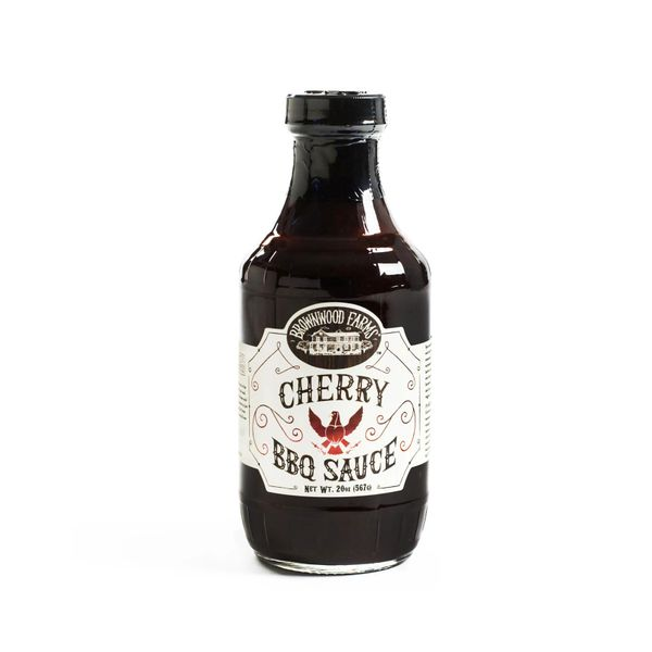 Brownwood Farms Cherry BBQ Sauce 20 Oz - 3 Pack