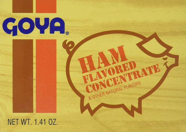 Goya Concentrated Ham Flavoring, 8-Count Packages (Pack of 18)