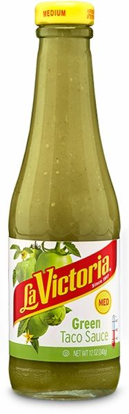 Green Taco Sauce by La Victoria - Mild - 6 Pack