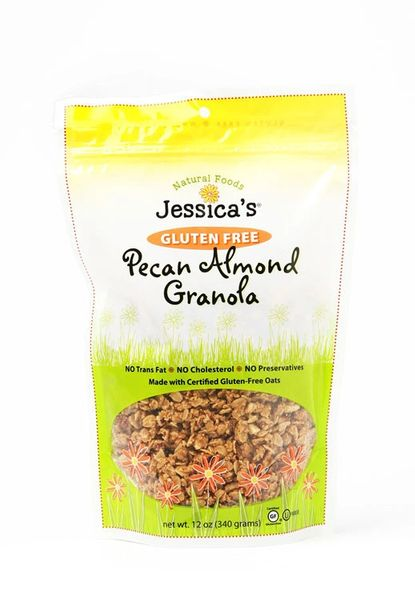 Jessica's Natural Gluten Free Pecan Almond Granola 11 Oz, Six Pack