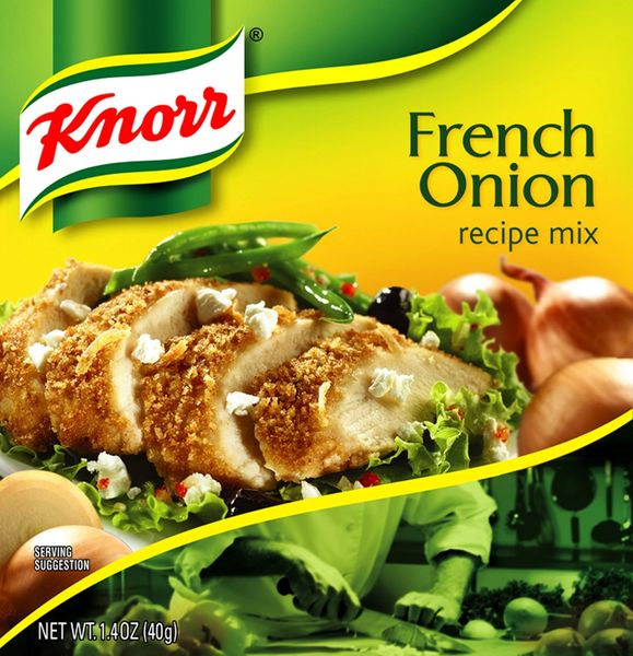 Knorr French Onion Recipe Mix, 1.4 Oz Packets (Pack of 12)