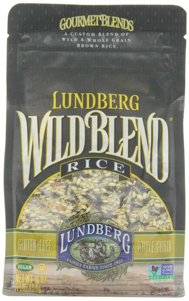 Lundberg Wild Blend of Wild and Whole Grain Brown Rice (Pack of 6)