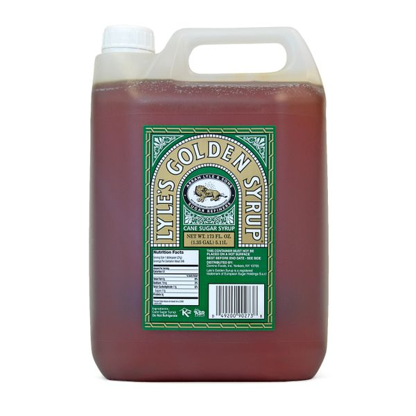 Lyle's Golden Syrup (Foodservice Poly Container), 5.11 Liters(1.35 Gal)