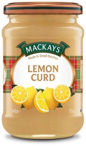 MacKays Lemon Curd - Pack of 6