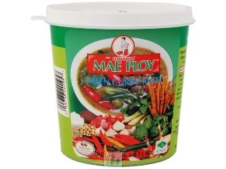 Mae Ploy Thai Green Curry Paste 35 oz Tubs - 3 Pack
