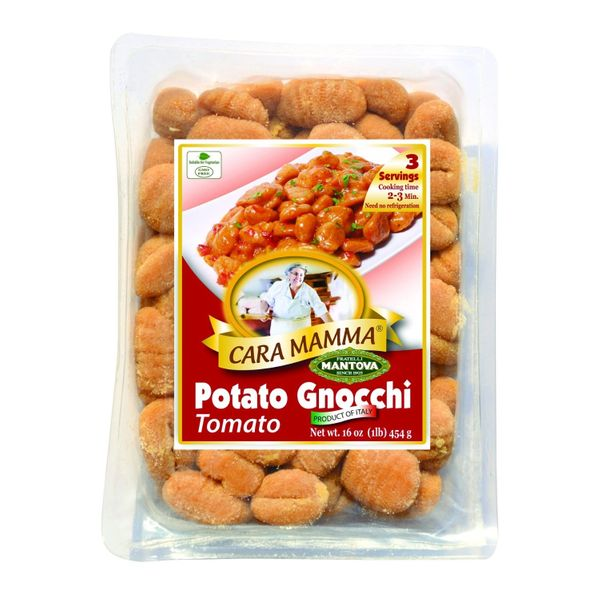 Mantova's Cara Mamma Sundried Tomato Potato Gnocchi (Pack of 6)