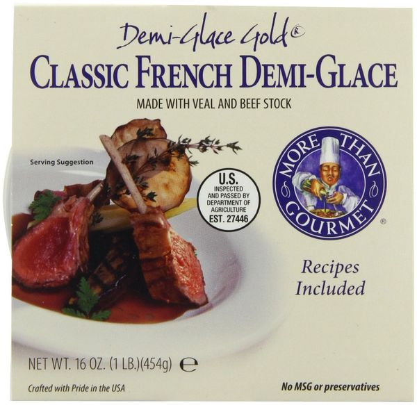 More Than Gourmet Gold French Demi-glace, 16-Oz Tub
