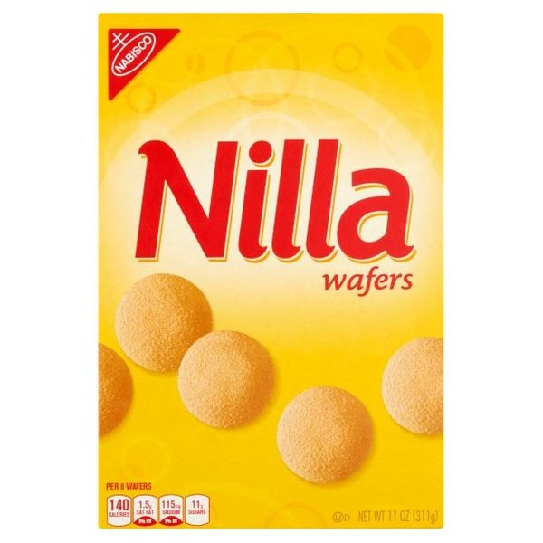 Nabisco Nilla Wafers, 11 oz, Case of 12 Boxes