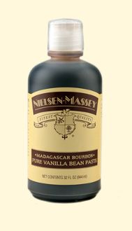 Nielsen Massey Madagascar Bourbon Vanilla Paste -1 Qt Bottle
