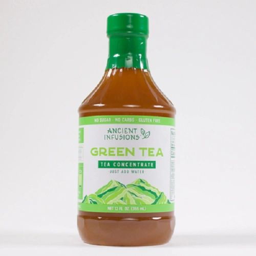 Pappy's/Ancient Infusions Green Tea Concentrate, 12 Oz Bottles (Pack of 6)
