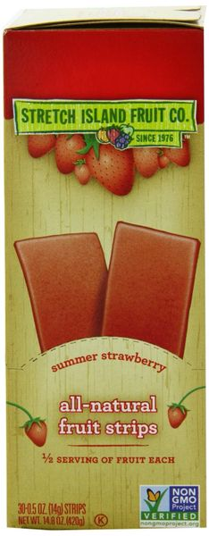 Stretch Island Summer Strawberry Original Fruit Leather, 30 PK