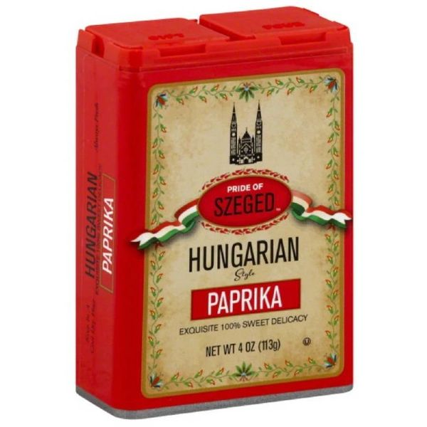 Szeged Hungarian Sweet Paprika - Pack of 6