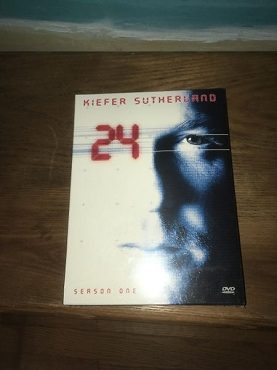 24 with Kiefer Sutherland,Season One Complete Set -DVD - New