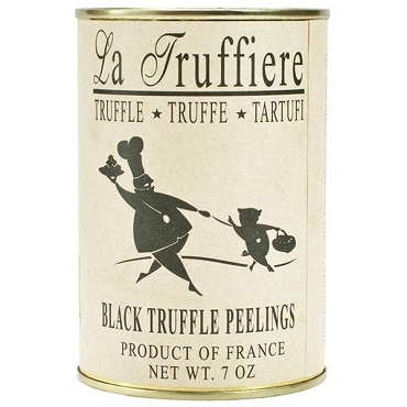LA TRUFFIERE BLACK TRUFFLE PEELINGS, 7 Oz Can