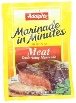 Adolph's Original Meat Tenderizing Marinade, 1-Oz (Pack of 12)