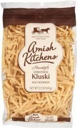 Amish Kitchens Kluski Extra Thick Egg Noodles- 12 pack