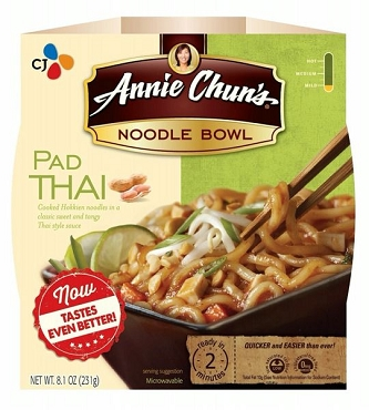 Annie Chun's Pad Thai Noodle Bowl 8.4 Oz (Pack of 6)