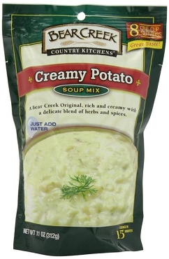 Bear Creek Creamy Potato Soup Mix, 11 oz - 6 Pack