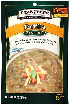 Bear Creek Country Kitchens Tortilla Soup Mix, (Pack of 6)