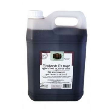 Beaufor Red Wine Vinegar- Bulk 5 Liter Jug