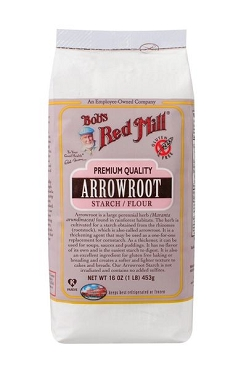Bob's Red Mill Arrowroot Starch Flour, 16 oz - 4 Pack
