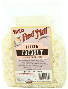 Bob's Red Mill Flaked Unsweetened Coconut - 4 Pack