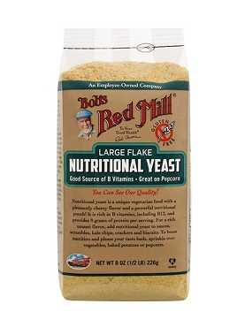 Bob's Red Mill Large Flake Nutritional Food Yeast 8 oz- 4 Pack
