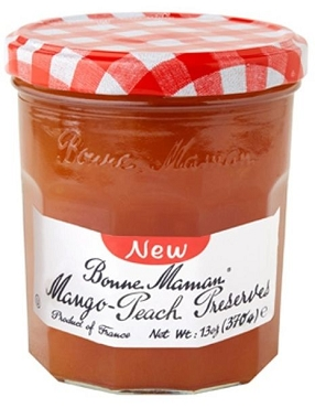 Bonne Maman Mango Peach Preserves- 13 Oz , 6 Pack