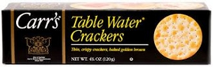 Carr's Original Table Water Crackers, 4.25 Oz, 12 Pack Case