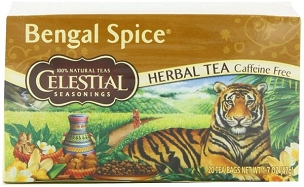 Celestial Seasonings Bengal Spice Herb Tea - 20 bag cartons, 6 Pack