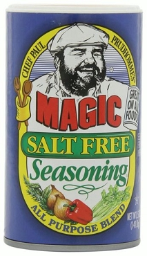 Chef Paul Magic Seasoning Salt Free Seasoning, 5-Oz 6 Pk
