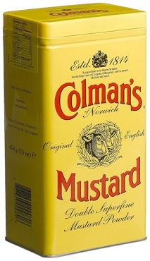 Colman's Mustard Powder, 16 Oz Cans (Pack of 2)