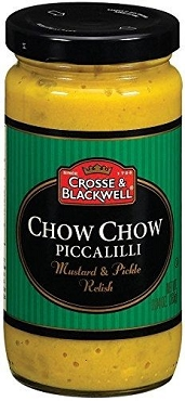 Crosse & Blackwell Chow Chow Piccalilli Mustard & Pickle Relish