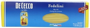 De Cecco Fedelini Pasta, 16 Ounce Boxes (Pack of 8)