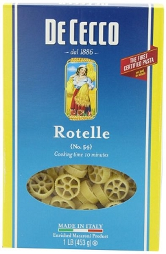 De Cecco Rotelle (pinwheel) Pasta, 16 Oz (Pack of 8)