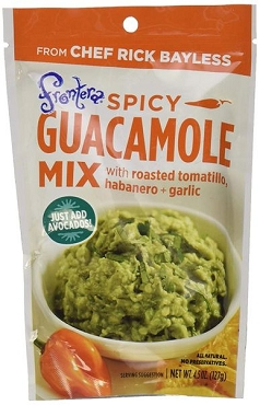 Frontera Spicy Guacamole Mix, 4.5 OZ, Case of Eight Packets