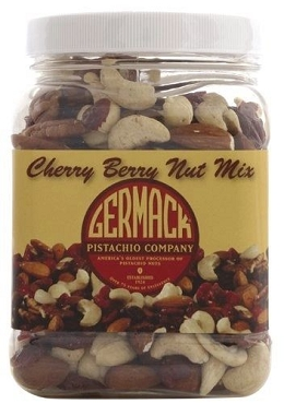 Germack Cherry Berry Snack Mix- 16 oz - 3 Pack