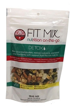Germack Detox Fit Mix Trail Mix- 9 Oz-8 Pack