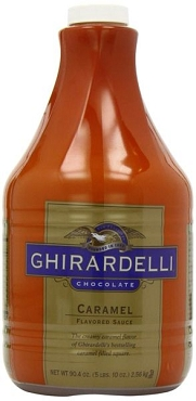 Ghirardelli Creamy Caramel Flavored Sauce, 90.4 Ounce