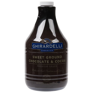 Ghirardelli Sweet Ground Chocolate & Cocoa Flavoring Sauce-87 oz