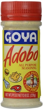Goya Adobo All Purpose Seasoning with Pepper 8.0 OZ--12-Pack