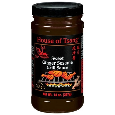 House Of Tsang Sweet Ginger Sesame Grill Sauce- 6 Pack