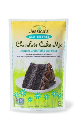 Jessica's Gluten Free Chocolate Cake Mix, 20.2 Oz - 6 Pack
