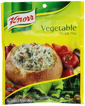 Knorr Vegetable Recipe Soup and Dip Mix, 1.4 Oz (Pack of 12)