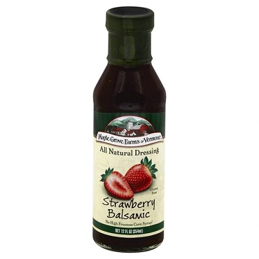 Maple Grove Farms Strawberry Balsamic Salad Dressing, 12 Oz