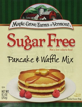 Maple Grove Farms Sugar Free Pancake & Waffle Mix, 8.5 Oz - 8 Pack