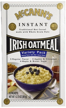 McCann's Variety Pack Instant Oatmeal, 12 Boxes with 10 Packets each. 120 Total