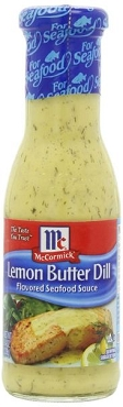 McCormick Lemon Butter Dill Sauce, 8.4-Oz Glass (Pack of 6)