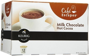Milk Choc.Hot Cocoa K-Cups 6 boxes of 12 k cups each (72 k cups)